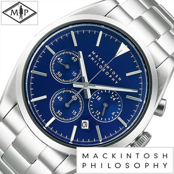 [あす楽]マッキントッシュ フィロソフィー 腕時計[MACKINTOSH PHILOSOPHY 時計]マッキントッシュフィロソフィー 時計[MACKINTOSHPHILOSOPHY 腕時計]メンズ ブルー FBZV981 [新作 正規品 ブランド メタル ベルト 防水 シルバー おしゃれ ブランド プレゼント ギフト ]