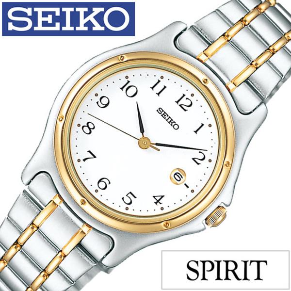 セイコー スピリット 腕時計[SEIKO SPIRIT 時計]セイコースピリット 時計[SEIKOSPIRIT 腕時計]セイコー スピリット時計[SEIKO SPIRIT時計]レディース ホワイト SSXV028 [スピリッツ メタル ベルト シルバー ペア ウォッチ ゴールド ギフト][ プレゼント ギフト]