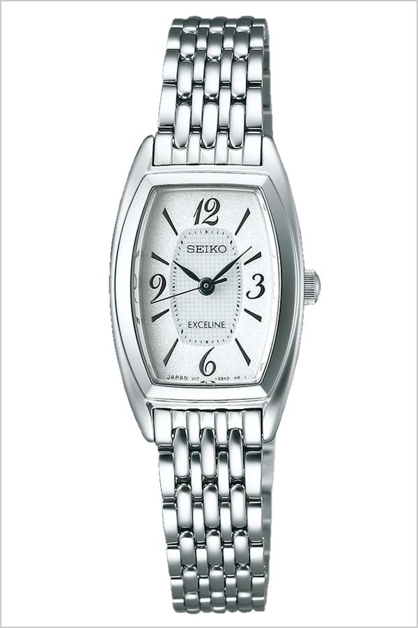 セイコー ドルチェ&エクセリーヌ 腕時計[SEIKO DOLCE&EXCELINE 時計]セイコー ドルチェ エクセリーヌ 時計[SEIKO DOLCE EXCELINE 腕時計]セイコー時計[SEIKO時計]レディース ホワイト SWCQ063 [メタル ベルト ソーラー シルバー トノー][ プレゼント ギフト]