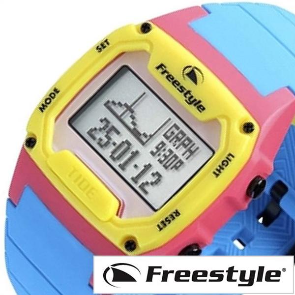 [当日出荷] 時計 シリコン レディース [あす楽]フリースタイル 腕時計[FreeStyle時計]フリー スタイル 時計[Free Style 腕時計] シャーククラシック タイド SHARK CLASSIC TIDE SILICONE メンズ グレー FS101841 [ 正規品 防水 サーフィン スポーツ ブルー イエロー] 誕生日