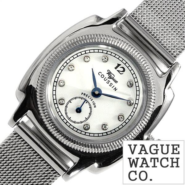 ヴァーグウォッチ 腕時計 [VAGUE WATCH Co.時計]( VAGUE WATCH Co. 腕時計 ヴァーグ ウォッチ コー 時計 ) クッサン ( COUSSIN ) レディース 腕時計 ホワイト CO-S-006 [ 正規品 人気 流行 ブランド 防水 メタル ベルト おしゃれ ブランド プレゼント ギフト ]