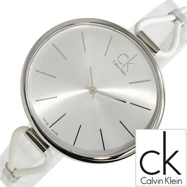 カルバンクライン 腕時計 [CalvinKlein時計]( Calvin Klein 腕時計 カルバン クライン 時計 ) セレクション ( Selection ) レディース 腕時計 シルバー K3V231L6 [革ベルト クオーツ ck シー ケー ビジネス スイス 製][ おしゃれ 防水 プレゼント ギフト ]