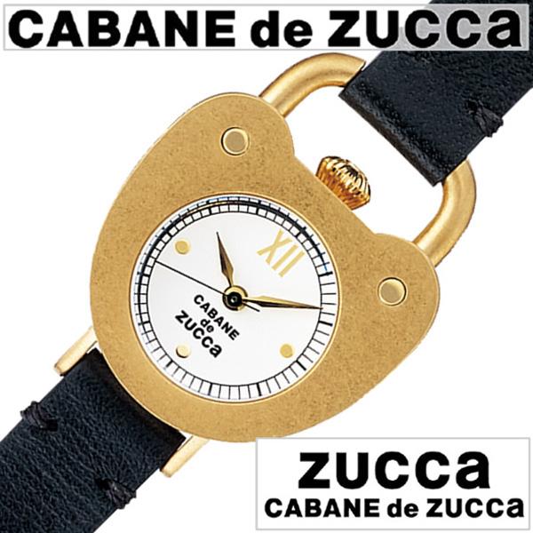 カバンドズッカ 腕時計[CABANEdeZUCCA時計]( CABANE de ZUCCA 腕時計 カバン ド ズッカ 時計 ) キャスト ハート ( Cast Heart ) レディース 腕時計 ホワイト AJGK075[革 ベルト 正規品 SEIKO ブレス ウォッチ ブラック ゴールド おしゃれ 防水 プレゼント ギフト ]