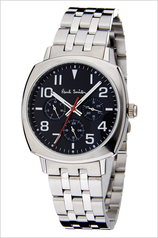 Capsule Paul Smith Watch Paul Smith Clock Paul Smith Watch Paul Smith Clock Atto Mick Atomic Men Black P10046 Latest High Quality Metal Belt Trend Brand Recommended Gift Present Fashion Watch Birthday