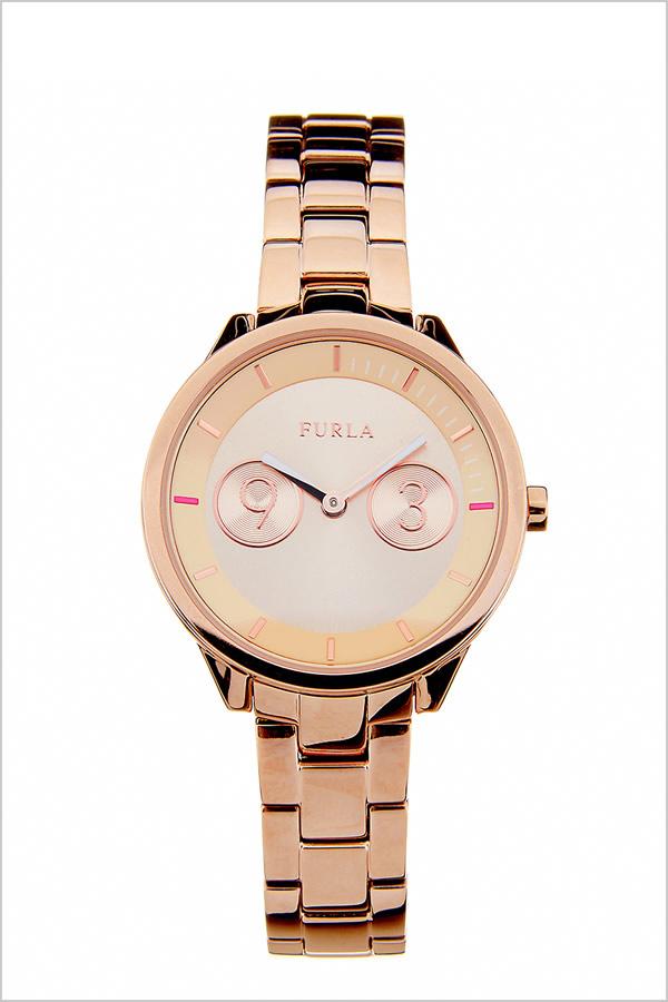 フルラ腕時計 FURLA時計 FURLA 腕時計 フルラ 時計 メトロポリス METROPOLIS 31mm レディース ピンクゴールド R4253102518 [人気 新作 流行 ブランド イタリア 女性 防水 メタル ベルト ギフト プレゼント ローズゴールド][おしゃれ 腕時計]