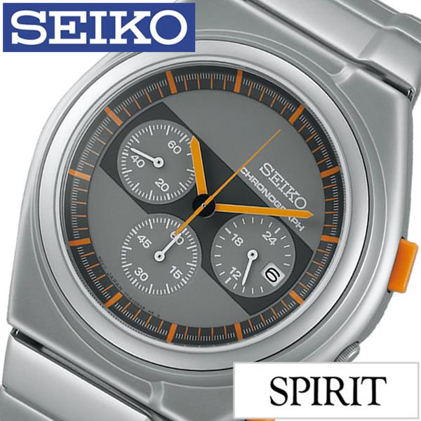 セイコー 腕時計 [SEIKO時計]( SEIKO 腕時計 セイコー 時計 ) スピリット スマート ( SPIRIT SMART ) メンズ 腕時計 グレー SCED057 [メタル ベルト 正規品 防水 クオーツ 限定 1000本 シルバー][プレゼント ][ おしゃれ ブランド ]