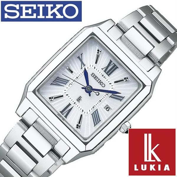 セイコー腕時計 SEIKO時計 SEIKO 腕時計 セイコー 時計 ルキア LUKIA レディース シルバー SSVW097 [ 正規品 ソーラー電波 ビジネス フォーマル シック シルバー メタル ベルト][おしゃれ 防水 ]