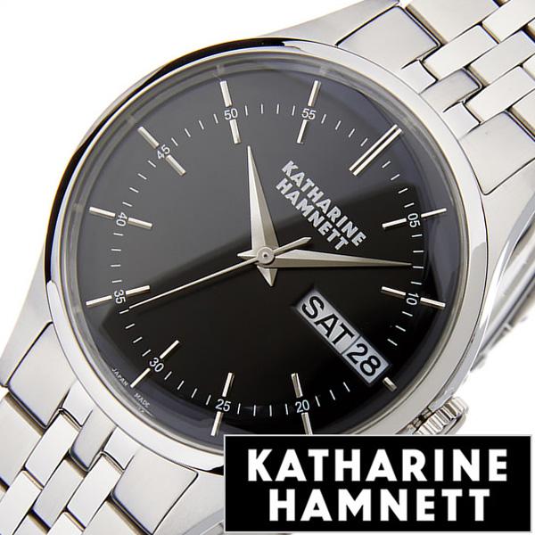 [あす楽]キャサリンハムネット腕時計 KATHARINE HAMNETT 腕時計 キャサリン ハムネット 時計 イングリッシュ スリック メンズ ブラック KH20G5-B34 [ 正規品 人気 新作 ブランド トレンド おすすめ 高級 イギリス アンティーク ファッション メタル ベルト]