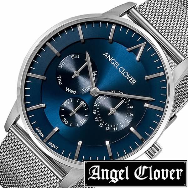 エンジェルクローバー腕時計 AngelClover時計 Angel Clover 腕時計 エンジェル クローバー 時計 ゼロ Zero メンズ ネイビー ZE42SNV [ 正規品 人気 流行 ブランド 防水 メタル ベルト プレゼント ギフト][おしゃれ 腕時計]