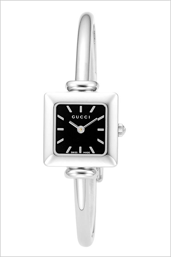 グッチ 腕時計 GUCCI 時計 1900 シリーズ レディース ブラック YA019517 [新作 人気 ブランド 防水 高級 おすすめ ファッション プレゼント ギフト メタル シルバー][おしゃれ 腕時計]