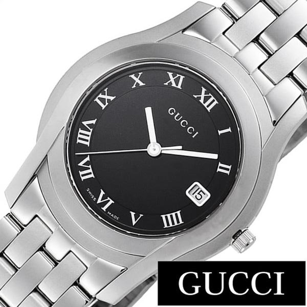 グッチ腕時計 GUCCI時計 GUCCI 腕時計 グッチ 時計 Gクラス G Class メンズ ブラック YA055302 [新作 人気 ブランド 防水 高級 おすすめ ファッション プレゼント ギフト メタル シルバー][おしゃれ 腕時計]