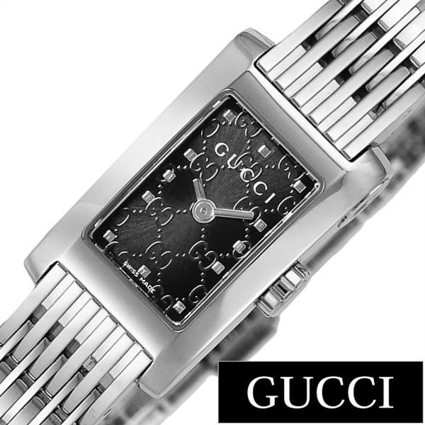 グッチ 腕時計 GUCCI 時計 Gメトロ シリーズ G-Metro レディース ブラック YA086514 [新作 人気 ブランド 防水 高級 おすすめ ファッション プレゼント ギフト メタル シルバー][おしゃれ 腕時計]