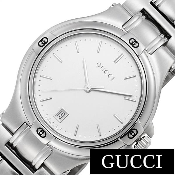 グッチ 腕時計 GUCCI 時計 9045 シリーズ メンズ シルバー YA090318 [新作 人気 ブランド 防水 高級 おすすめ ファッション プレゼント ギフト メタル シルバー][おしゃれ 腕時計]