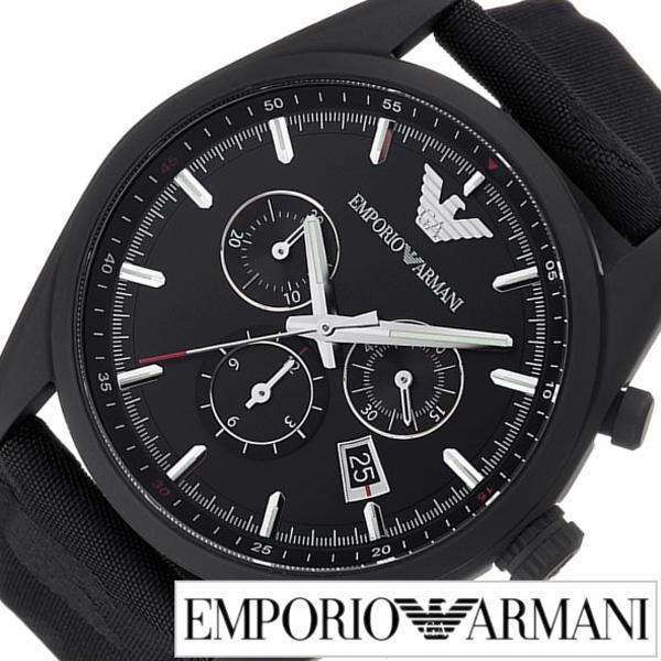 エンポリオアルマーニ腕時計 EMPORIOARMANI時計 EMPORIO ARMANI 腕時計 エンポリオ アルマーニ 時計 メンズ ブラック AR6051 [新作 人気 トレンド ブランド 高級 EA エンポリ おすすめ オシャレ ギフト プレゼント キャンバス 迷彩][おしゃれ 腕時計]