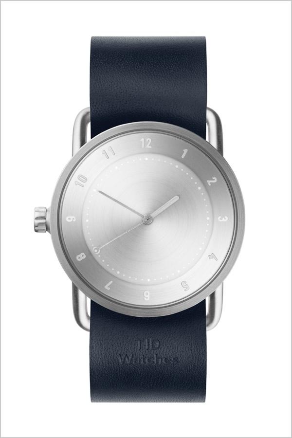 ティッドウォッチ腕時計 TIDWatches時計 TID Watches 腕時計 ティッド ウォッチ 時計 レディース シルバー SET-TID02-SV36-NV [新作 人気 流行 ブランド 革 レザーベルト 北欧 シンプル レディース ネイビー][社会人]