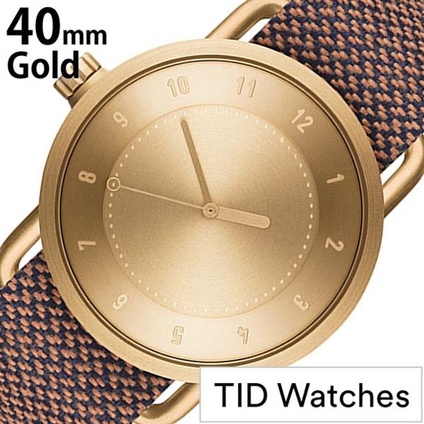 ティッドウォッチ腕時計 TIDWatches時計 TID Watches 腕時計 ティッド ウォッチ 時計 メンズ ゴールド TID01-GD40-RUST [正規品 人気 流行 ブランド 革 レザーベルト 北欧 シンプル ブラウン 革 レザー バンド 社会人] 誕生日