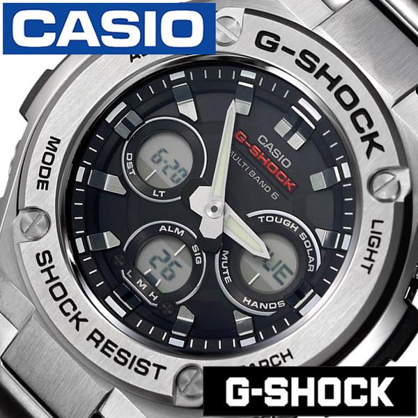 カシオ腕時計 CASIO時計 CASIO 腕時計 カシオ ジーショック 頑丈 な 時計ジースチール G-SHOCK G-STEEL メンズ ブラック GST-W310D-1AJF [ 正規品 新作 防水 Gショック シルバー メタル 電波ソーラー アナデジ][おしゃれ 腕時計]