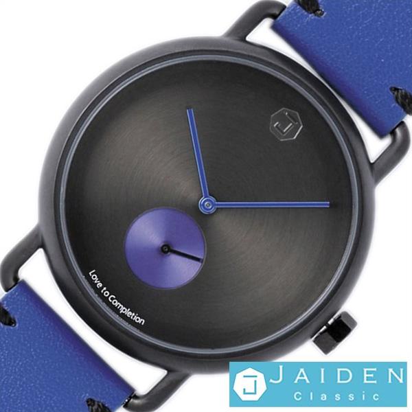 [当日出荷] ジャイデン クラシック腕時計 JAIDENClassic時計 JAIDEN Classic 腕時計 時計 ルナマットブラック Luna Matte Black メンズ レディース ブラック J-MB-BL [ 正規品 防水 北欧 シンプル 革 レザー ベルト ブルー おしゃれ ブランド ]