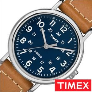 TIMEX 腕時計 タイメックス 時計 ウィークエンダー WEEKENDER 40MM メンズ ブルー TW2R42500 [ 正規品 欧米 アメリカ ユニセックス ペアウォッチ ラウンド おしゃれ シンプル ビジネス カジュアル ファッション レザー 革 シルバー ネイビー プレゼント ギフト]