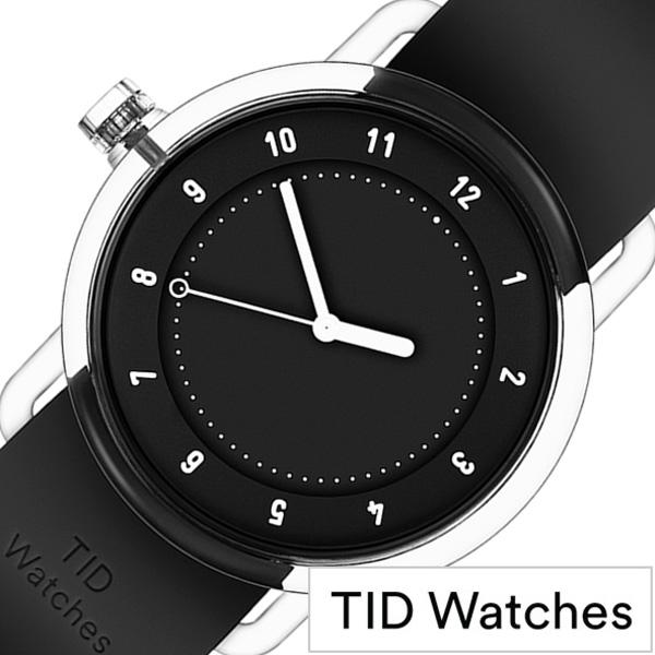 【SALE】(20%OFF) 割引 セール 安い ティッドウォッチズ腕時計 TIDwatches時計 TID watches 腕時計 ティッド ウォッチズ 時計 NO3 メンズ レディース ブラック TID03 38BK [人気 クリア TR90 ラバー ペア プレゼント ギフト シンプル オールブラック おしゃれ カスタム]