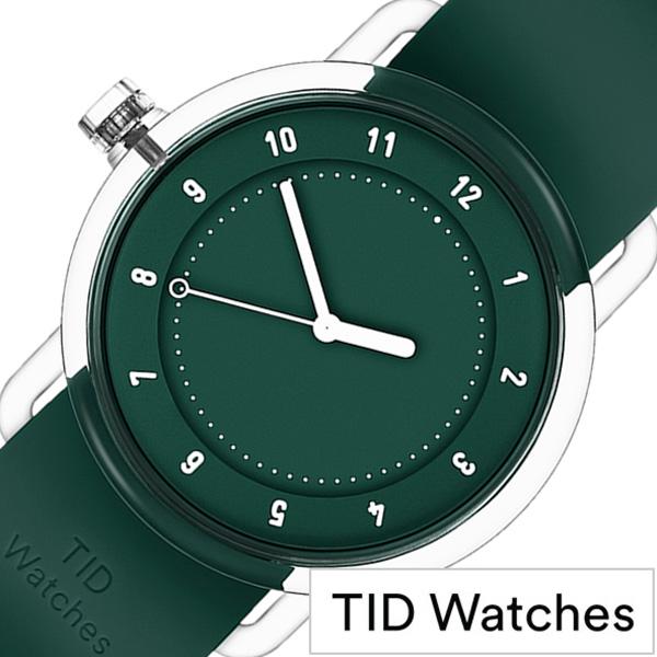 ティッドウォッチズ腕時計 TIDwatches時計 TID watches 腕時計 ティッド ウォッチズ 時計 NO3 メンズ レディース グリーン TID03 38GR [正規品 人気 流行 クリア TR90 ラバー ファッション ペア プレゼント ギフト シンプル おしゃれ カスタム]
