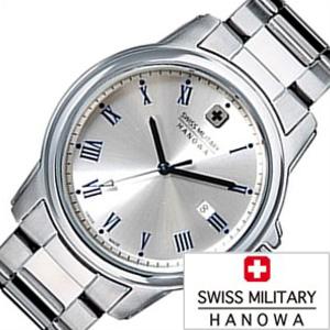 スイスミリタリー腕時計 SWISSMILITARY時計 SWISS MILITARY HANOWA 腕時計 スイス ミリタリー ハノワ 時計 ローマン ROMAN レディース シルバー ML-379 [ 正規品 人気 スイス 防水 プレゼント ギフト メタル カレンダー]