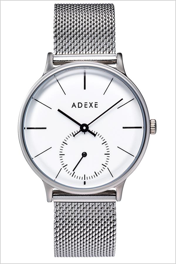 [ スニーカーコーデにおすすめ カジュアル フォーマル ] アデクス腕時計 ADEXE時計 ADEXE 腕時計 アデクス 時計 プチ PETITE レディース 女性 大学生 ホワイト 1870B-01 [ギフト プレゼント ][人気 話題][シンプル 腕時計][おしゃれ 防水 ]