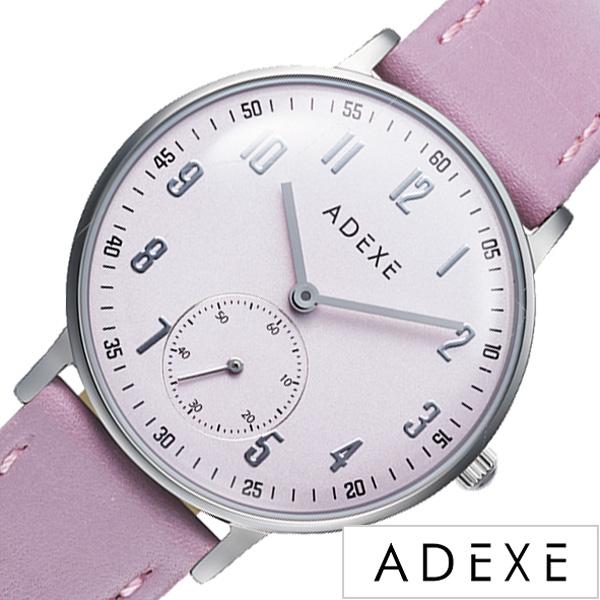 [ スニーカーコーデにおすすめ カジュアル フォーマル ] アデクス腕時計 ADEXE時計 ADEXE 腕時計 アデクス 時計 プチ PETITE レディース 女性 大学生 ライトパープル 2043C-04 [ギフト プレゼント ][人気 話題][シンプル 腕時計][おしゃれ 防水 ]
