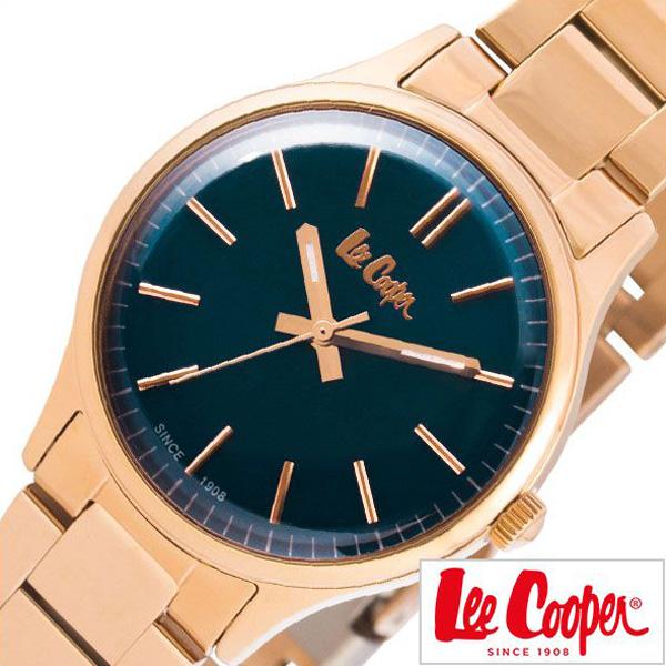 リークーパー腕時計 LeeCooper時計 Lee Cooper 腕時計 リークーパー 時計 レディース ネイビー LC6300-490 [ 正規品 人気 ロンドン ファッション ブランド デニム ヴィンテージ ローズゴールド ステンレス プレゼント ギフト ][おしゃれ] 誕生日 冬ギフト