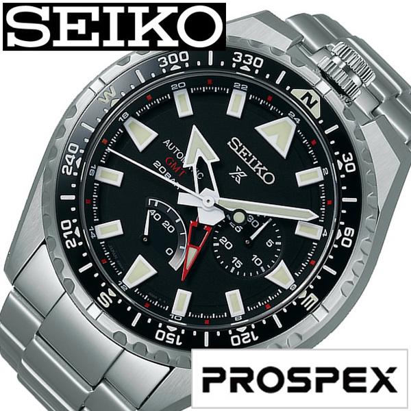 SEIKO PROSPEX セイコー プロスペックス腕時計 時計 メンズ ブラック SBEJ001 [ 正規品 定番 人気 限定 記念モデル ラウンド シンプル ステンレス メカニカル シルバー プレゼント ギフト][送料無料]