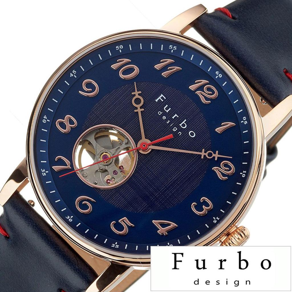 フルボデザイン腕時計 Furbodesign時計 Furbo design 腕時計 フルボ デザイン 時計 メンズ ネイビー F