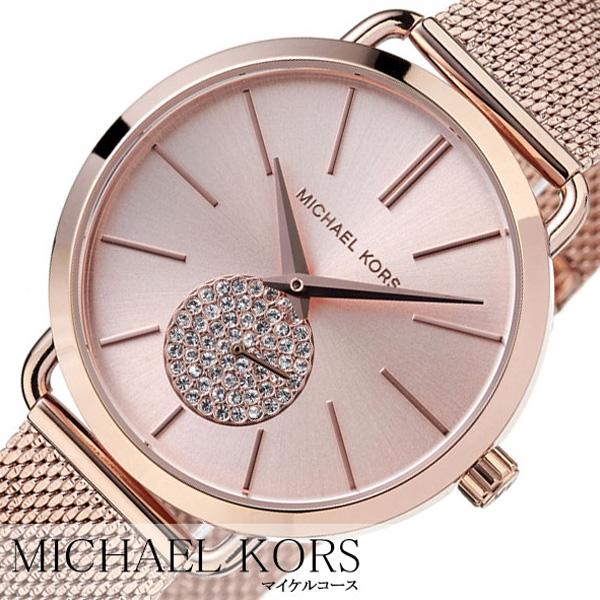 89b7d4a4afb8 [あす楽]マイケルコース時計 MichaelKors腕時計 ポーシャ PORTIA ( 20代 30代