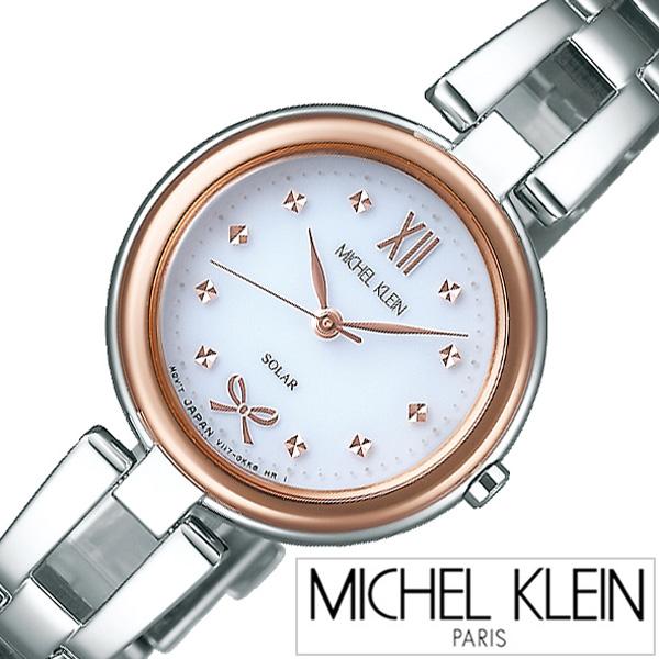 ミッシェルクラン腕時計 MICHELKLEIN時計 MICHEL KLEIN 腕時計 ミッシェル クラン 時計 レディース シルバー AVCD040 [ ラウンド プレゼント ゴールド ギフト ブランド リボン シンプル かわいい アクセサリータイプ ビジネス ファッション カジュアル ]