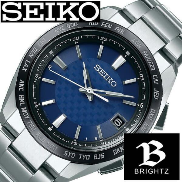 最安値級価格 [当日出荷] セイコー腕時計 誕生日 SEIKO時計 プレゼント SEIKO 腕時計 セイコー 時計 ギフト ブライツ BRIGHTZ メンズ ブルー SAGZ089 [ アナログ (電池交換不要) ソーラー 電波 ラウンド ビジネス ファッション カジュアル 人気 ] 誕生日 新生活 プレゼント ギフト, アンジュジャパン/AngeJapan:dba7274d --- annhanco.com
