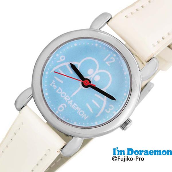 サンリオ時計 Sanrio Sanrio 時計 サンリオ アイアム ドラえもん I'm Doraemon キッズ 女の子 ブルー SR-V23 [ 革ベルト レザー 子供用 キッズウォッチ かわいい おしゃれ 小学生 幼稚園生 時間 勉強 キャラクター プレゼント ギフト ]