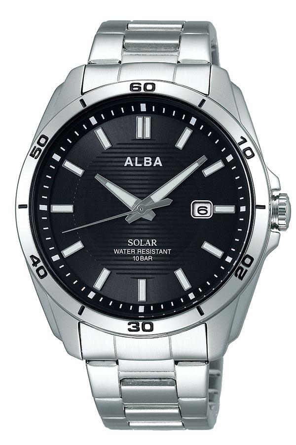 セイコー腕時計 SEIKO時計 SEIKO 腕時計 セイコー 時計 アルバ ALBA メンズ 男性 夫 彼氏 ブラック AQGD401 [ ブランド シンプル プレゼント ギフト アナログ ラウンド カレンダー スポーツ ファッション カジュアル ビジネス ]