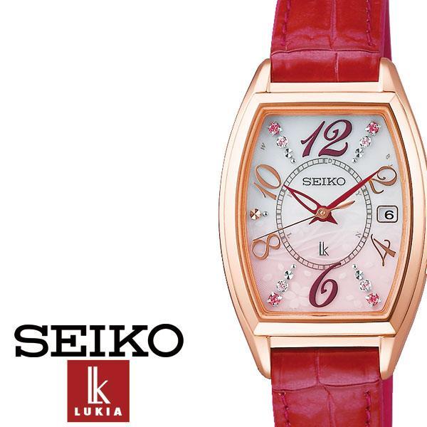 セイコー腕時計 SEIKO時計 SEIKO 腕時計 セイコー 時計 ルキア LUKIA レディース 女性 用 防水 彼女 妻 シルバー SSVW144 [ シンプル ピンクゴールド 電波 桜 プレゼント ギフト アナログ ファッション カジュアル ビジネス ]