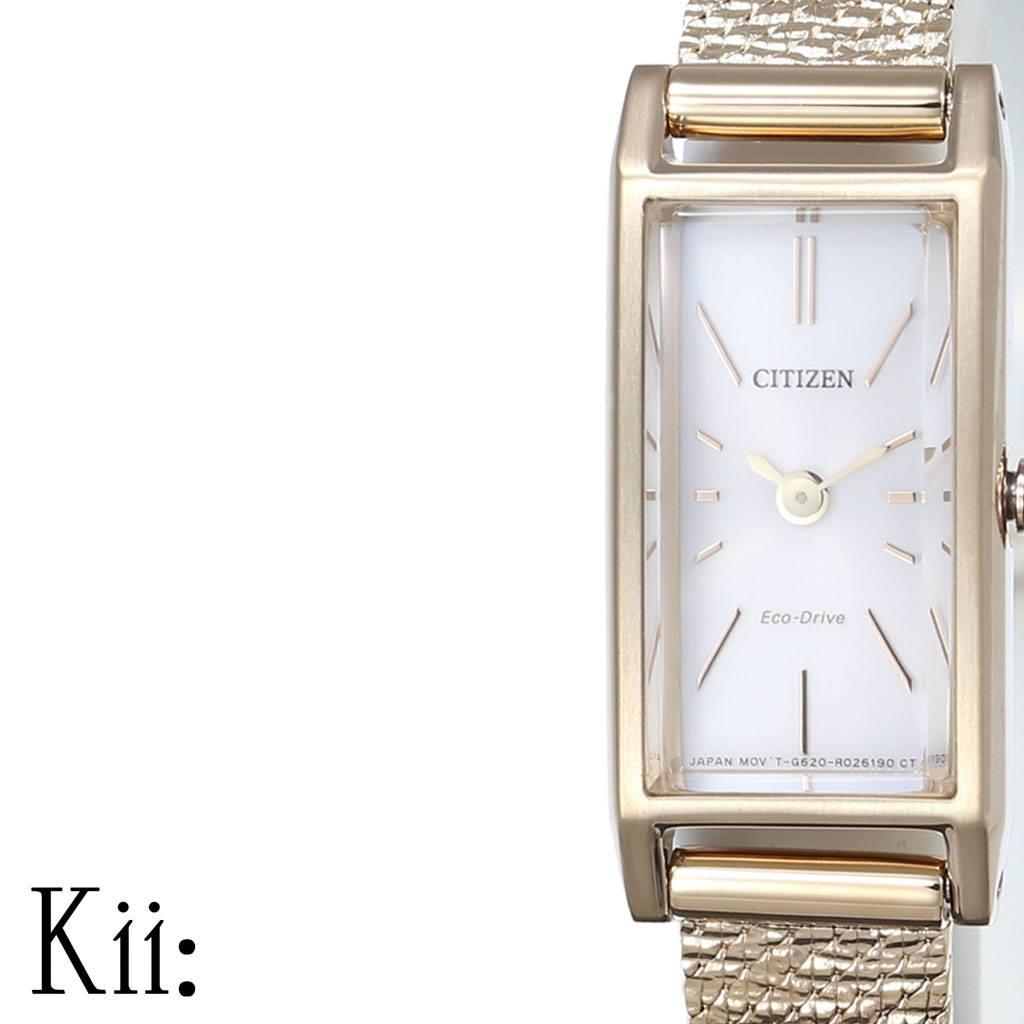 (電池交換不要) ソーラー Kii シチズン 時計 シチズン腕時計 CITIZEN時計 CITIZEN 腕時計 キー レディース シルバー EG7043-50W [ 正規品 エコ・ドライブ シンプル 人気 ブランド プレゼント ギフト アナログ カレンダー ファッション カジュアル ビジネス ] PT10