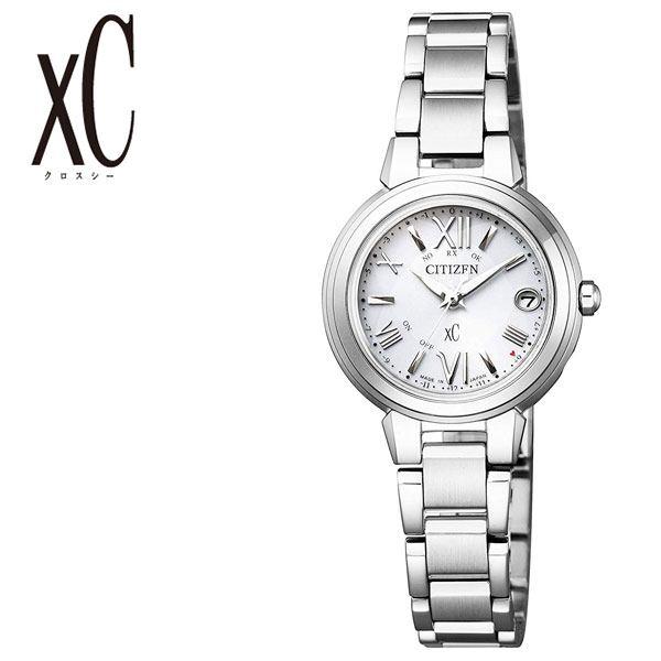ソーラー シチズン腕時計 CITIZEN時計 CITIZEN 腕時計 シチズン 時計 クロスシー xC レディース シルバー ES9430-54A [ 正規品 エコ・ドライブ 電波 シンプル 人気 ブランド カレンダー ラウンド ファッション ビジネス ] 誕生日