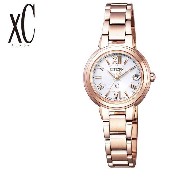 [当日出荷] citizen サクラピンク ソーラー シチズン腕時計 CITIZEN時計 腕時計 シチズン 時計 クロスシー xC レディース シルバー ES9435-51A [ 正規品 エコ・ドライブ 電波 シンプル ブランド カレンダー ラウンド ファッション ]