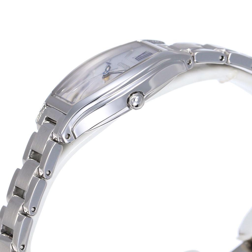 シチズン腕時計 CITIZEN時計 CITIZEN 腕時計 シチズン 時計 クロスシー xC レディース シルバー EW5540-52A [ 正規品 エコ・ドライブ シンプル 人気 ブランド プレゼント ギフト アナログ カレンダー ファッション カジュアル ビジネス ]