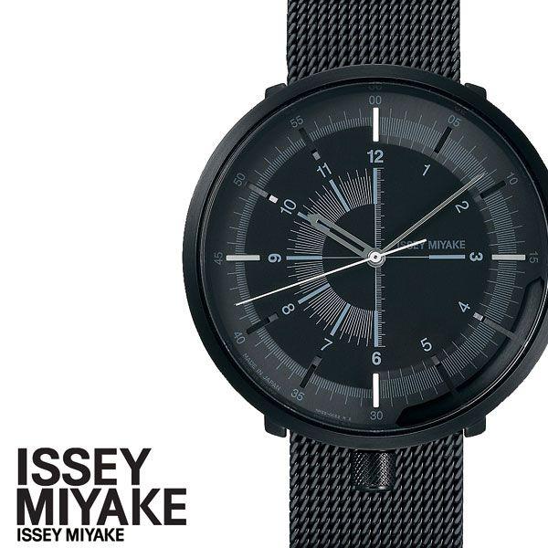 [6月8日発売]イッセイミヤケ腕時計 ISSEYMIYAKE時計 ISSEY MIYAKE 腕時計 イッセイミヤケ 時計 ワンシックス 2019 01 06 メンズ 男性 彼氏 ブラック NYAK001 [ デザイン シンプル 機械式 メカニカル 自動巻き プレゼント ギフト おしゃれ ]
