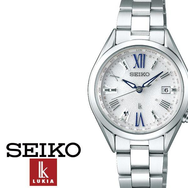セイコー腕時計 SEIKO時計 SEIKO 腕時計 セイコー 時計 ルキア Lukia レディース 女性 用 防水 彼女 妻 シルバー SSQV053 [ シンプル 電波 ダイヤ プレゼント ギフト アナログ ラウンド ファッション カジュアル ビジネス ]