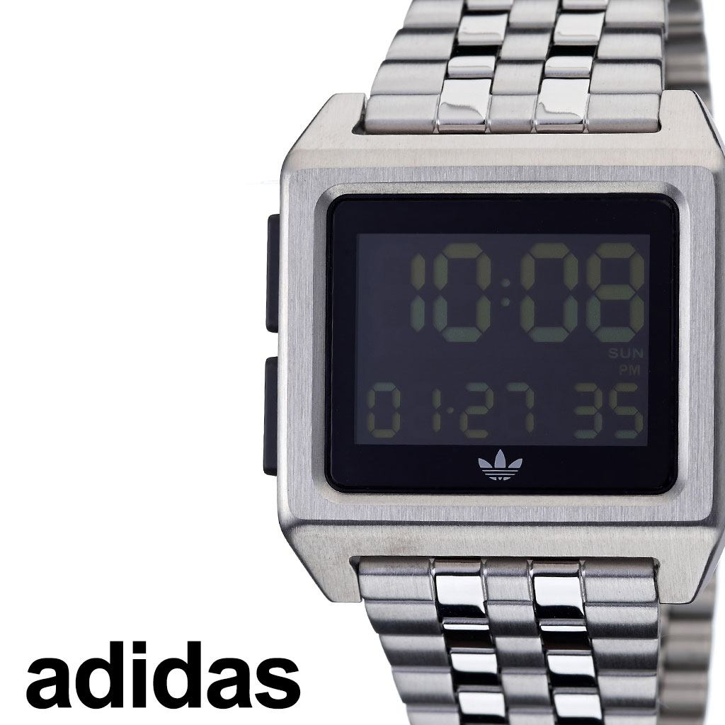 [当日出荷] アディダス腕時計 adidas時計 adidas 腕時計 アディダス 時計 アーカイブエム1 ARCHIVE_M1 メンズ レディース ペアウォッチ ブラック 黒 Z01-3043-00 [ ブランド 人気 お洒落 おすすめ シンプル スクエア 四角 韓国 ファッション ストリート プレゼント ]