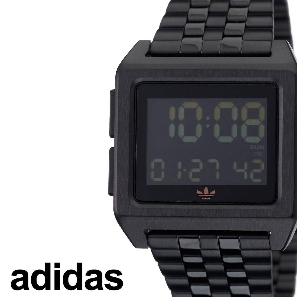 [当日出荷] アディダス腕時計 adidas時計 adidas 腕時計 アディダス 時計 アーカイブエム1 ARCHIVE_M1 メンズ レディース ペアウォッチ ブラック 黒 Z01-3077-00 [ ブランド 人気 お洒落 おすすめ シンプル スクエア 四角 韓国 ファッション ストリート プレゼント ]
