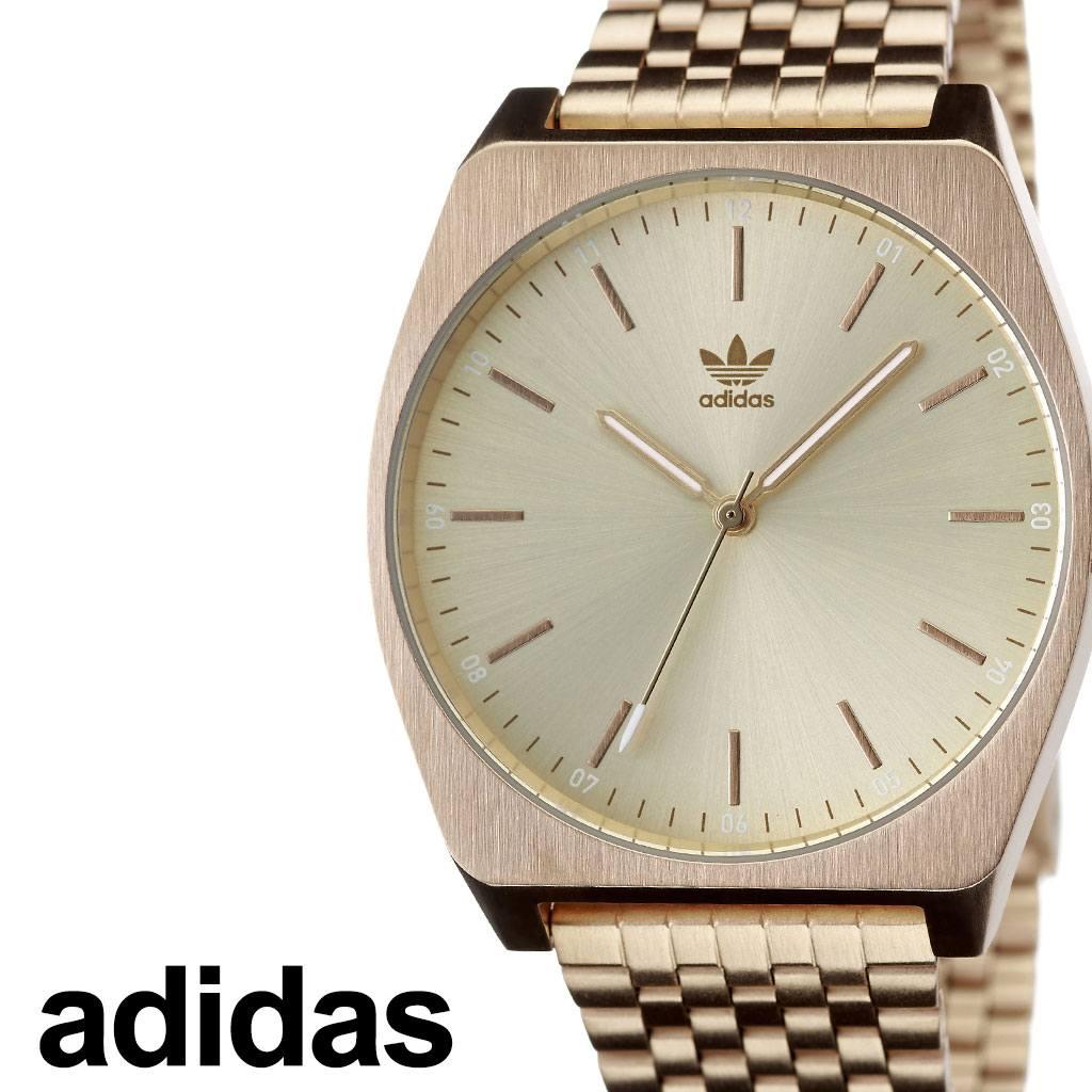 アディダス腕時計 adidas時計 adidas 腕時計 アディダス 時計 プロセスエム1 Process_M1 カップル 彼女 彼氏 男性 女性 メンズ レディース ゴールド Z02-502-00 [ ブランド お洒落 ラウンド シンプル ステンレス ファッション ストリート プレゼント ギフト ][送料無料]
