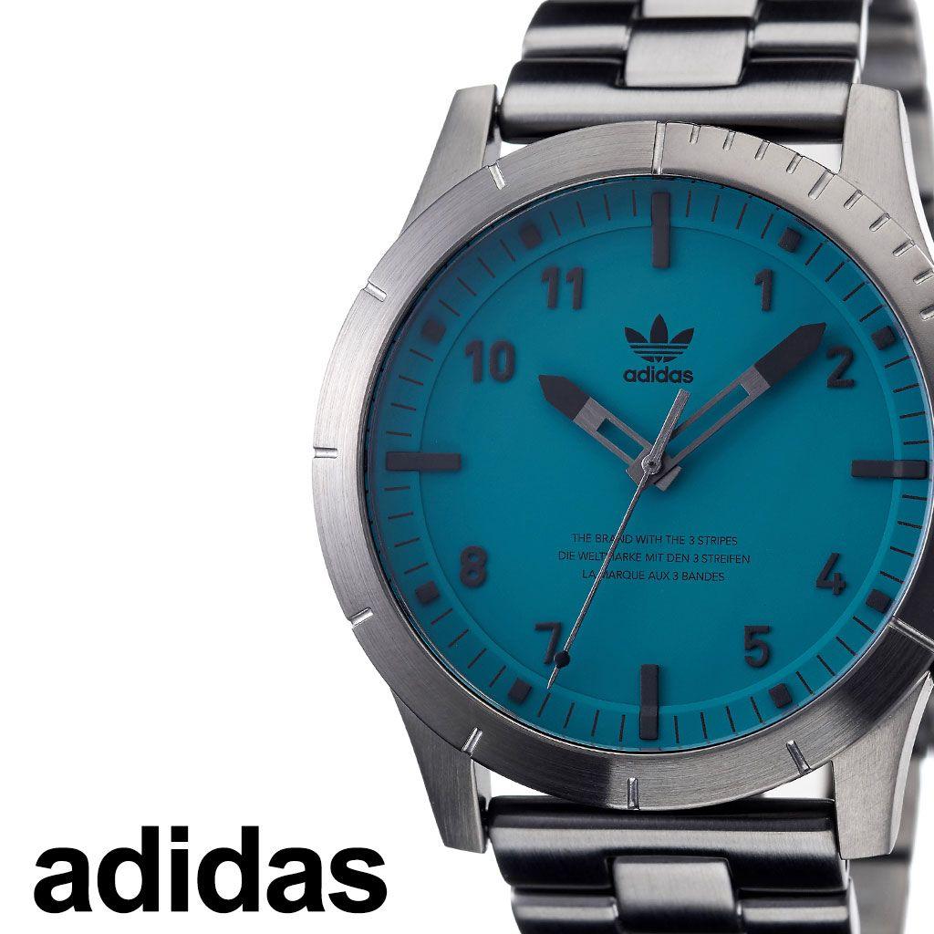アディダス腕時計 adidas時計 adidas 腕時計 アディダス 時計 サイファーエム1 Cypher_M1 カップル 彼氏 男性 メンズ グリーン Z03-2917-00 [ ブランド 社会人 おすすめ お洒落 メタルバンド ステンレス シンプル ビジネス スーツ ビジカジ プレゼント ギフト ][送料無料]