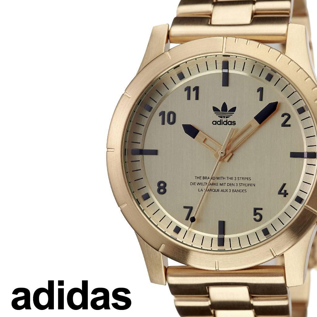 【SALE】(18%OFF) 割引 セール 安い アディダス腕時計 adidas時計 adidas 腕時計 アディダス 時計 サイファーエム1 Cypher_M1 カップル 彼氏 男性 メンズ ゴールド Z03-510-00 [ ブランド お洒落 メタルバンド ステンレス シンプル スーツ ビジカジ プレゼント ]