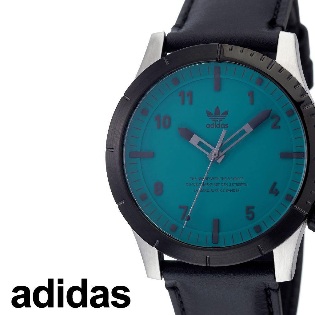 アディダス腕時計 adidas時計 adidas 腕時計 アディダス 時計 サイファーエルエックス1 CYPHER_LX1 カップル 彼氏 男性 メンズ グリーン Z06-2960-00 [ ブランド 革ベルト レザー お洒落 ラウンド シンプル アナログ ビジカジ カジュアル プレゼント ギフト ][送料無料]