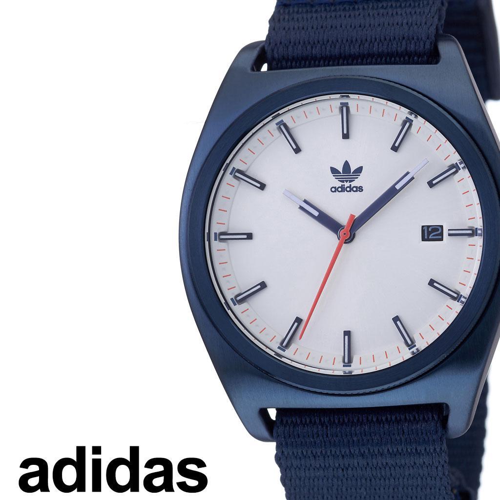 アディダス腕時計 adidas時計 adidas 腕時計 アディダス 時計 プロセス PROCESS_W2 カップル 彼氏 男性 女性 メンズ レディース 白 Z09-3032-00 [ ブランド ナイロン NYLON 防水 アウトドア NATO お洒落 ラウンド シンプル カジュアル プレゼント ギフト ]